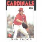 1986 Topps 474 John Tudor