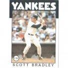 1986 Topps 481 Scott Bradley