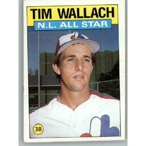 1986 Topps 703 Tim Wallach AS