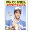 1986 Topps 713 Damaso Garcia AS