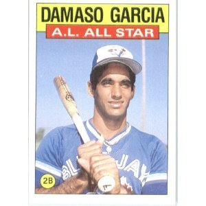 1986 Topps 713 Damaso Garcia AS
