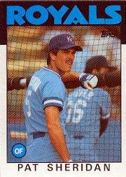 1986 Topps 743 Pat Sheridan