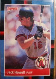 1988 Donruss 333 Jack Howell