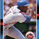 1988 Donruss 652 Mookie Wilson SP