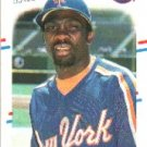 1988 Fleer 154 Mookie Wilson