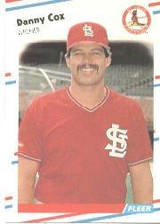 1988 Fleer 28 Danny Cox