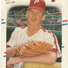 1988 Fleer 299 Jeff Calhoun