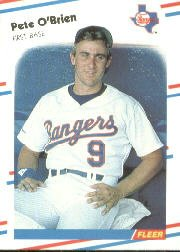 1988 Fleer 475 Pete O'Brien