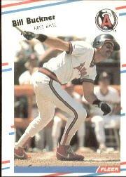 1988 Fleer 486 Bill Buckner