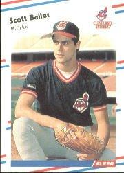 1988 Fleer 600 Scott Bailes