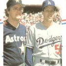 1988 Fleer 632 Mike Scott/Orel Hershiser