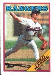 1988 Topps 369 Greg Harris