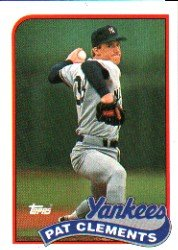 1989 Topps 159 Pat Clements
