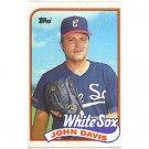 1989 Topps 162 John Davis