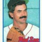 1989 Topps 205 Dwight Evans