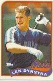 1989 Topps 435 Len Dykstra