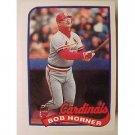 1989 Topps 510 Bob Horner