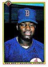 1990 Bowman 275 Mo Vaughn RC
