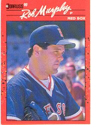 1990 Donruss 186 Rob Murphy
