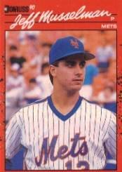 1990 Donruss 623 Jeff Musselman DP