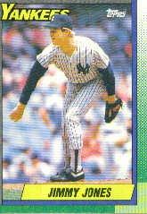1990 Topps 359 Jimmy Jones
