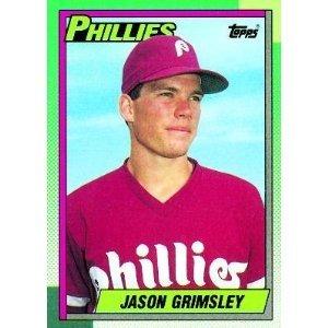 1990 Topps 493 Jason Grimsley RC