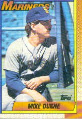 1990 Topps 522 Mike Dunne