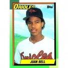1990 Topps 724 Juan Bell