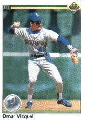 1990 Upper Deck 233 Omar Vizquel