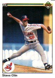 1990 Upper Deck 553 Steve Olin RC