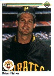 1990 Upper Deck 97 Brian Fisher