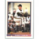 1991 Bowman 518 Randy Tomlin RC