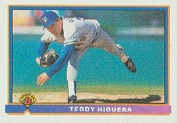 1991 Bowman 54 Ted Higuera