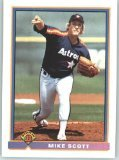 1991 Bowman 546 Mike Scott