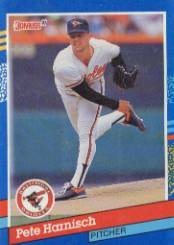 1991 Donruss 181 Pete Harnisch