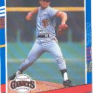 1991 Donruss 319 Jeff Brantley