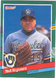 1991 Donruss 629 Ted Higuera