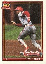 1991 Topps 130 Ozzie Smith