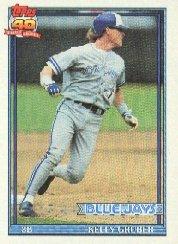1991 Topps 370 Kelly Gruber