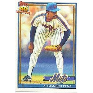 1991 Topps 544 Alejandro Pena