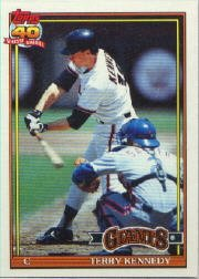 1991 Topps 66 Terry Kennedy