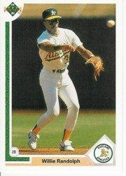 1991 Upper Deck 421 Willie Randolph