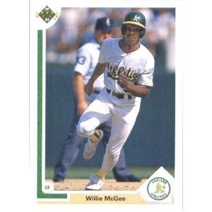 1991 Upper Deck 584 Willie McGee