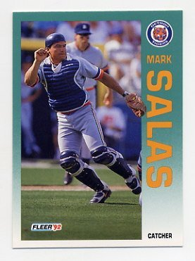 1992 Fleer 144 Mark Salas