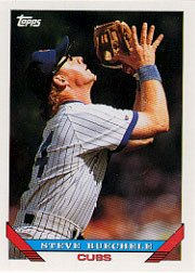 1993 Topps 74 Steve Buechele