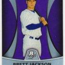 2010 Bowman Platinum Prospects Purple Refractors PP16 Brett Jackson
