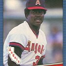 1986 Donruss 255 Donnie Moore