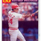 1986 Topps 205 Tony Perez RB