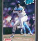1989 Donruss 43 Mike Harkey RR RC