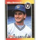 1989 Donruss 501 Mike Birkbeck